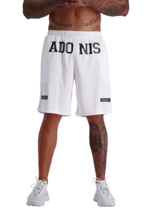HAMMA (White) Shorts front