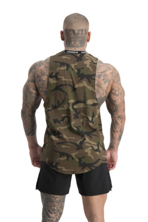 Pursuit Camo Tank Back