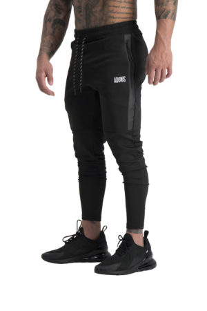Mens Envy Track Pants Black