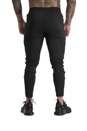 Mens Envy Track Pants Black Back