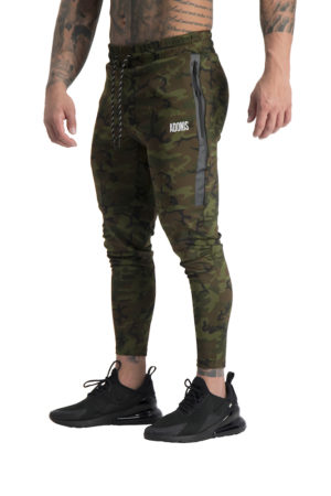 Mens Envy Track Pants Camo