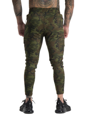 Mens Envy Track Pants Camo Back