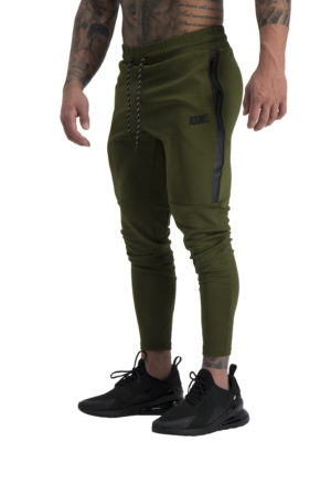 Mens Envy Track Pants Khaki