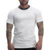 pursuit white tshirt