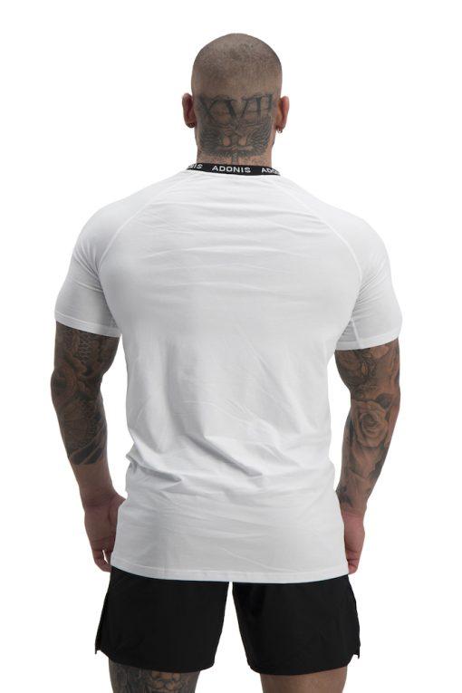 pursuit white t shirt back