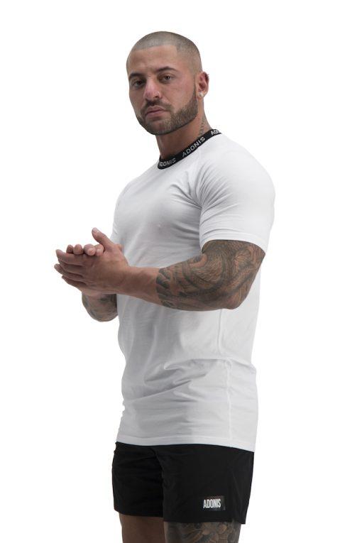 pursuit white t shirt side