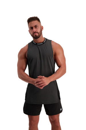 PURSUIT 2-0 Black_Grey Tank Front