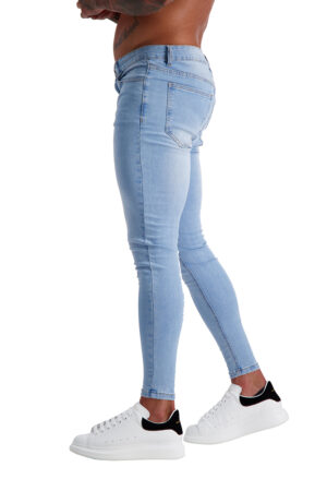 AG01 MUSCLE FIT JEANS side