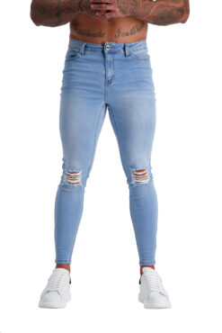 AG02 MUSCLE FIT JEANS front