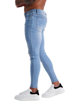 AG02 MUSCLE FIT JEANS side