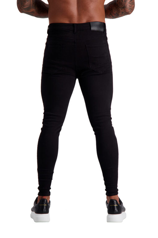 AG03 MUSCLE FIT JEANS back