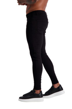 AG03 MUSCLE FIT JEANS side