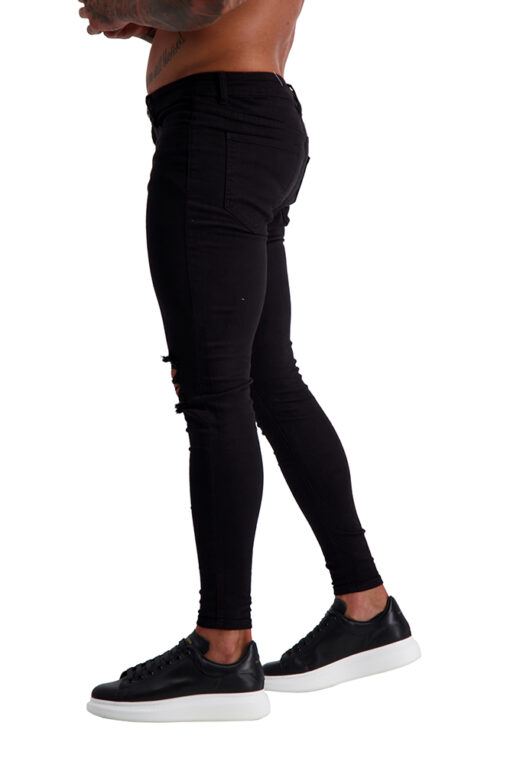 AG04 MUSCLE FIT JEANS side