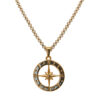 Adonis.Gear COMPASS (GOLD) Pendant + Chain Website