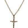 Adonis.Gear JESUS CRUCIFIX (GOLD) Pendant + Chain Website