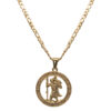 Adonis.Gear ST. CHRISTOPHER (GOLD) Pendant + Chain Website
