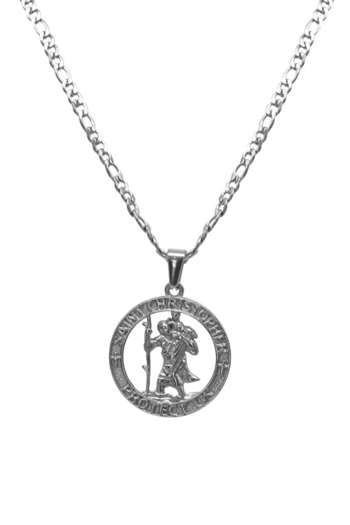 Adonis.Gear ST. CHRISTOPHER (SILVER) Pendant + Chain Website