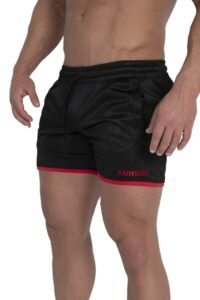 Adonis.Gear ENVY (Black/Red) Shorts