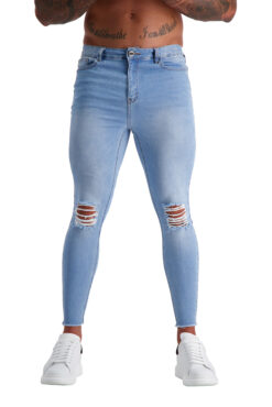 AG14 MUSCLE FIT JEANS front