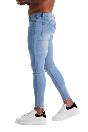 AG14 MUSCLE FIT JEANS side