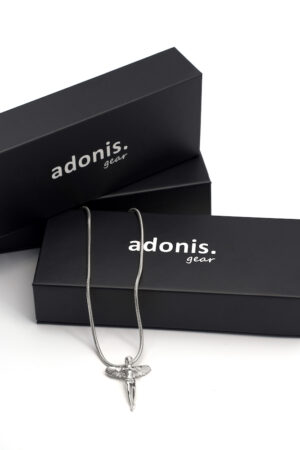 Adonis.Gear ANGEL (SILVER) Pendant + Chain Box Website