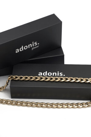Adonis.Gear CUBAN (GOLD) 12mm Chain Box Website