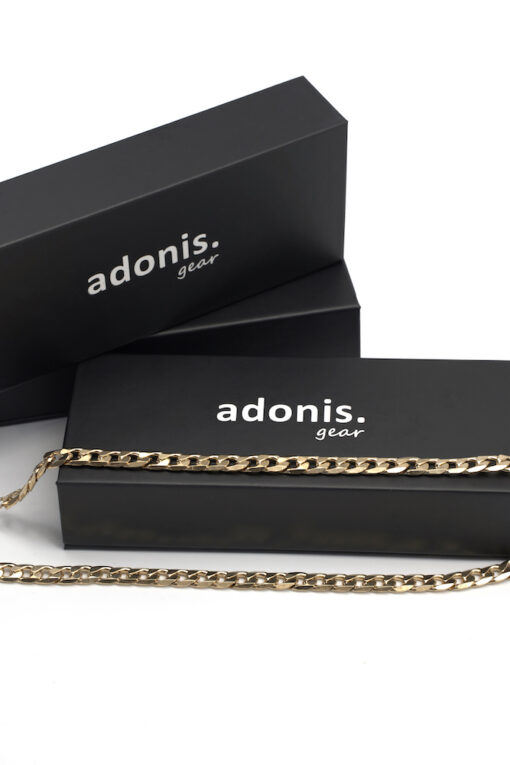 Adonis.Gear CUBAN (GOLD) 8mm Chain Box Box