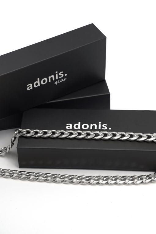 Adonis.Gear CUBAN (SILVER) 12mm Chain Box Website