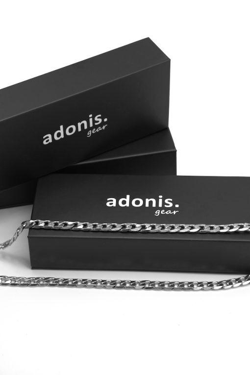 Adonis.Gear CUBAN (SILVER) 8mm Chain Box Website