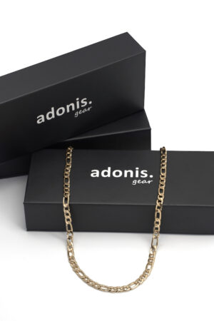 Adonis.Gear FIGARO (GOLD) 5mm Chain Box Website