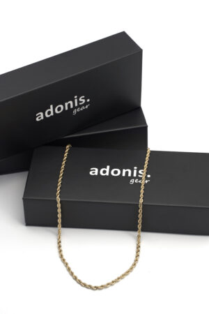 Adonis.Gear ROPE (GOLD) 3mm Chain Box Website