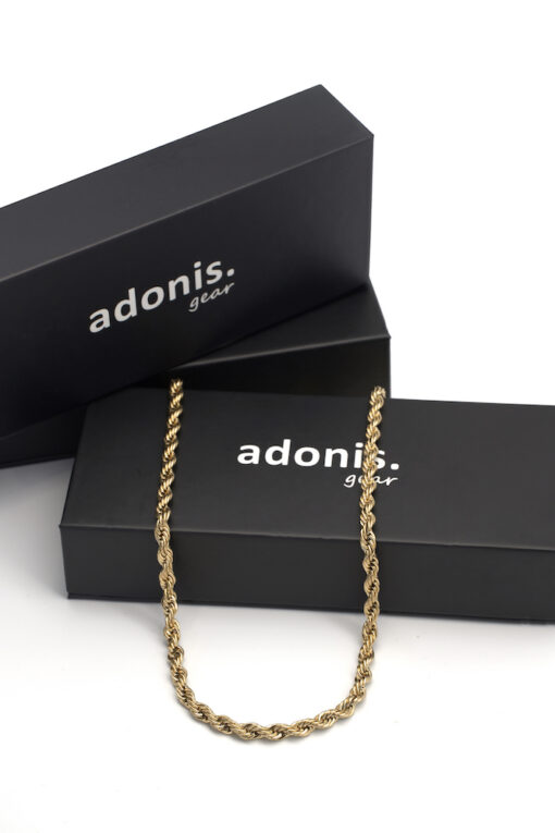 Adonis.Gear ROPE (GOLD) 5mm Chain Box Website