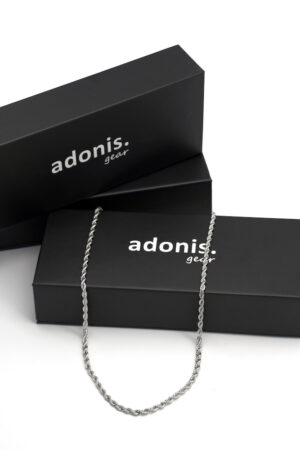 Adonis.Gear ROPE (SILVER) 3mm Chain Box Website