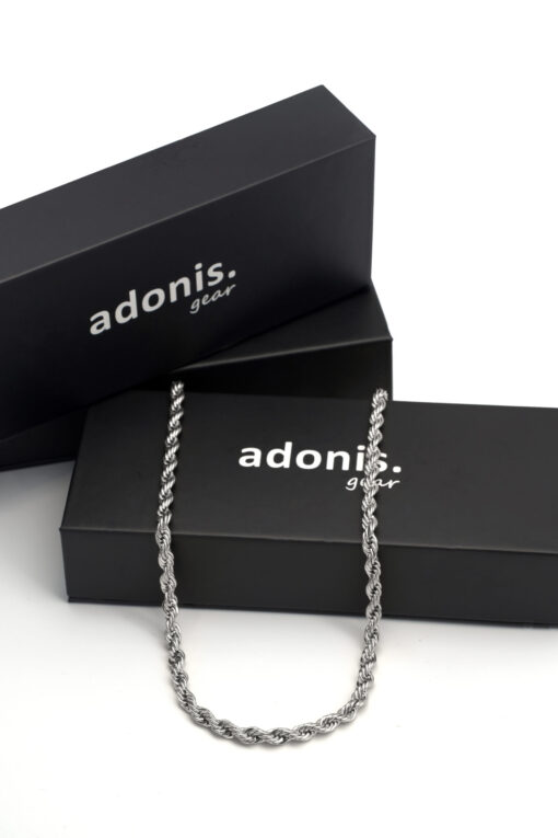 Adonis.Gear ROPE (SILVER) 5mm Chain Box Website