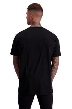 CLASSIC EMBOSSED BLACK back