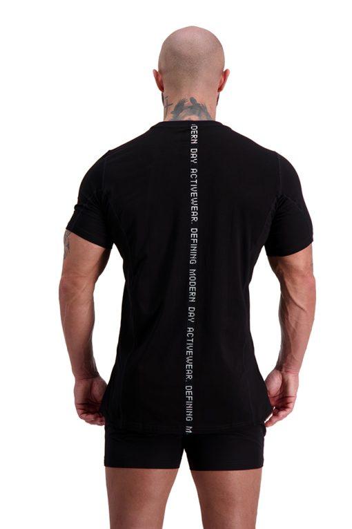 AG55 DEFINING (Black) T-Shirt Back