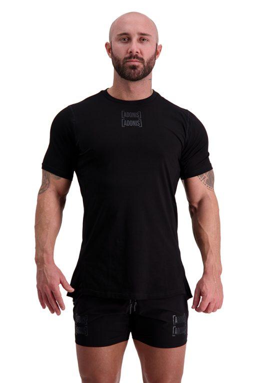 AG55 DEFINING (Black) T-Shirt Front