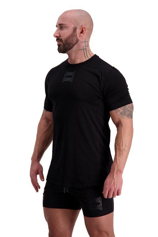 AG55 DEFINING (Black) T-Shirt Side