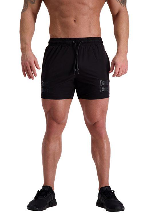 AG57 DEFINING (Black) 5″ Shorts Front