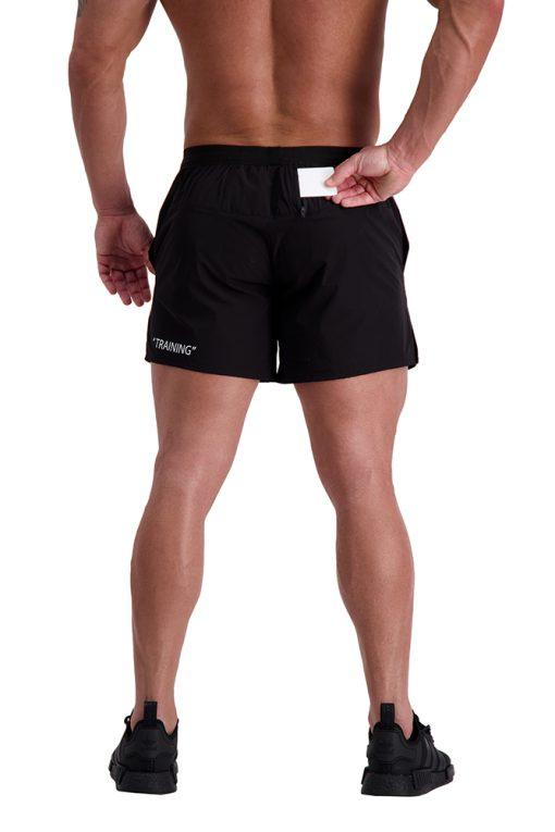AG64 TRAINING (Black) 5″ Shorts Back
