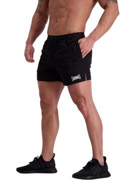 AG64 TRAINING (Black) 5″ Shorts Side