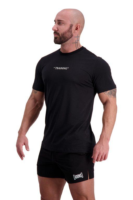 AG65 TRAINING (Black) T-Shirt Side