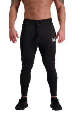 AG66 CLIMATE (Black_White) Track Pants Front