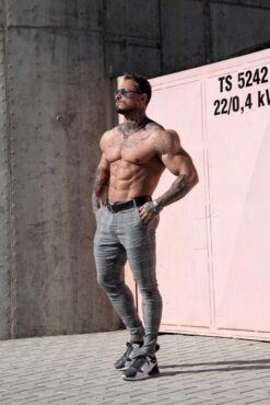 Muscle Fit Trousers